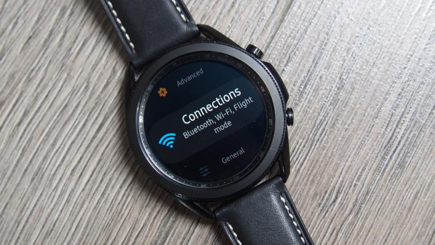 Restablecer y volver a conectar la pantalla en Galaxy Watch 3